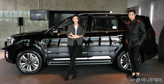 [사진]기아자동차, 대형 SUV '모하비 더 마스터' 공개
