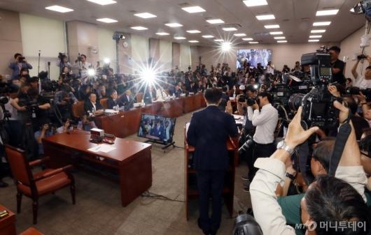 [사진]조국 법무장관 후보자 인사청문회
