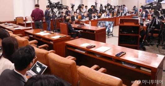 [사진]조국 청문회 증인 출석