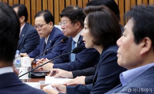 [사진]심각한 자유한국당
