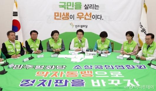 [사진]조국 장관 임명 관련 브리핑하는 정동영