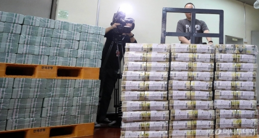 [사진]한국은행, 시중은행으로 추석 자금 방출