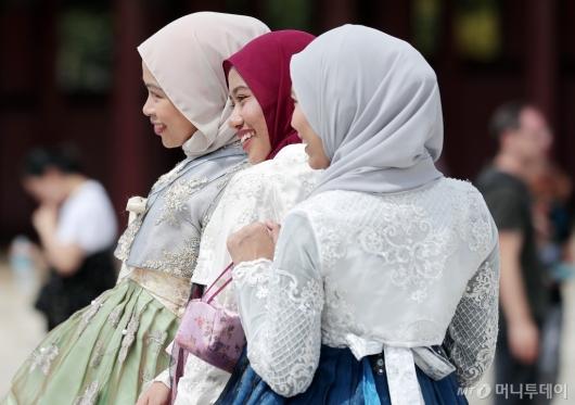 [사진]'히잡과 한복'