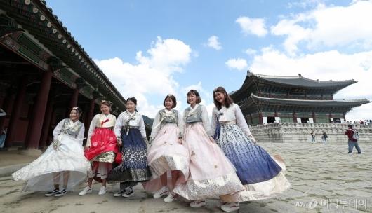 [사진]'즐거운 경복궁 나들이'