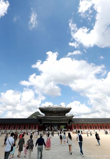 [사진]'파란 가을 하늘'