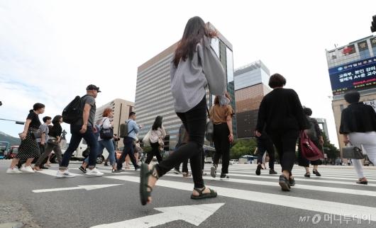 [사진]'연휴 끝나고 일상으로 복귀'