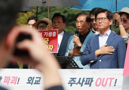 [사진]삭발 앞둔 김문수