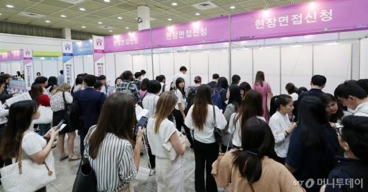 [사진]한국 취업 원하는 외국인 구직자들