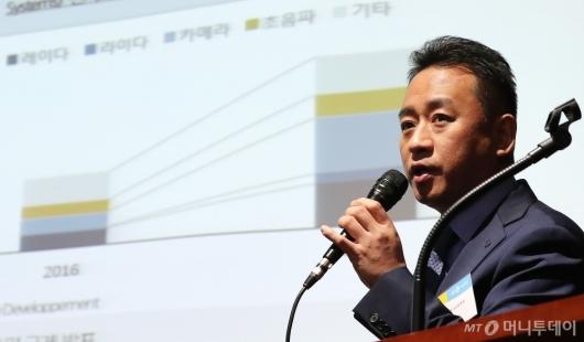 [사진]'머니투데이-IPO컨퍼런스' 참석한 김중곤 본부장