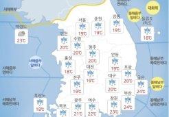 """태풍 타파로 전국 강한 비바람…""""피해유의"""""""