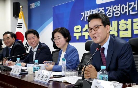 [사진]발언하는 조윤성 GS25 사장