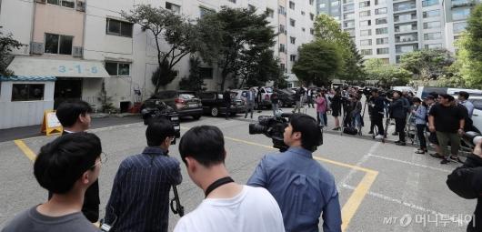 [사진]'조국 장관 자택 압수수색'