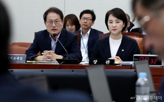 [사진]답변하는 조희연
