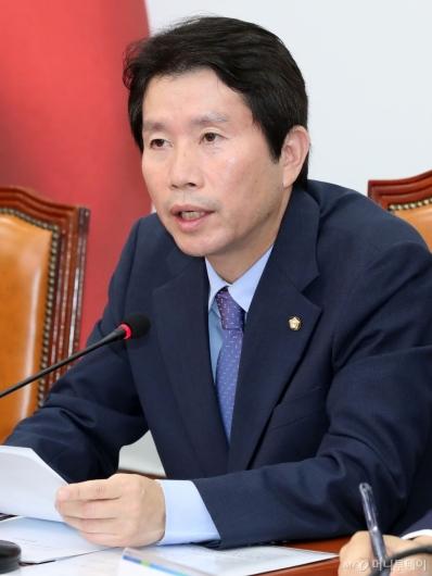 [사진]유치원 3법 관련 발언하는 이인영