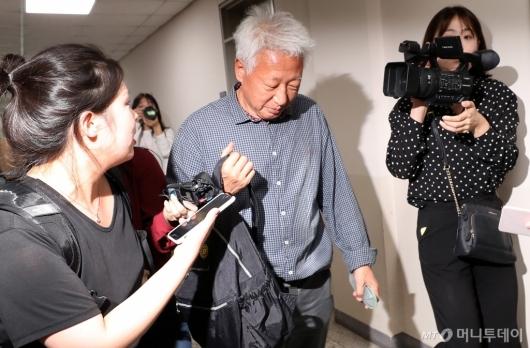 [사진]강의실 향하는 류석춘 교수