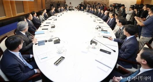 [사진]김현준 국세청장 초청 정책간담회