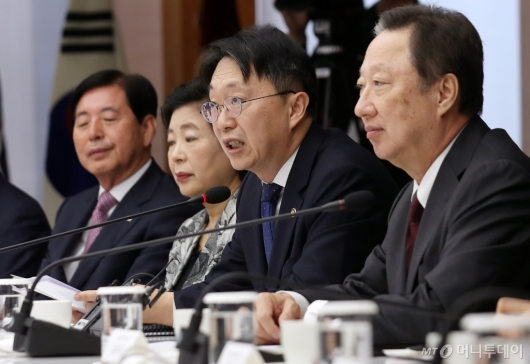[사진]김현준 국세청장, 대한상의서 모두발언