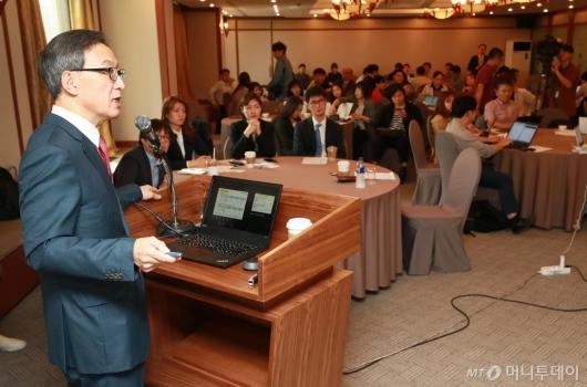 [사진]헬릭스미스, '임상 3상 실패' 엔젠시스 관련 긴급 기자회견