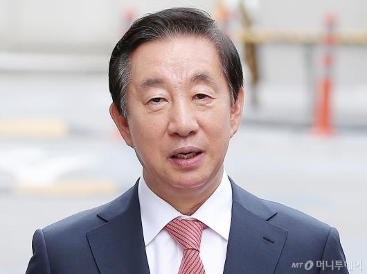 [사진]김성태 의원 '딸 채용 청탁 혐의' 공판 출석