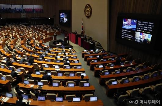[사진]국회 본회의 교육, 사회, 문화 대정부 질문