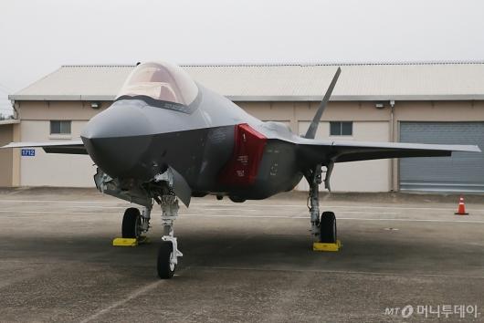 [사진]일반에 첫 공개된 스텔스기 F35A
