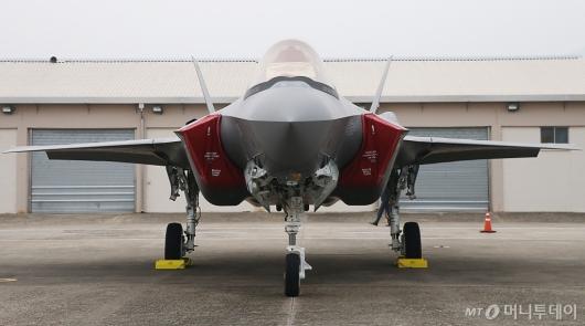 [사진]일반에 첫 공개된 스텔스 전투기 F35A