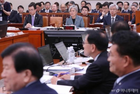 [사진]국회 외통위 국정감사