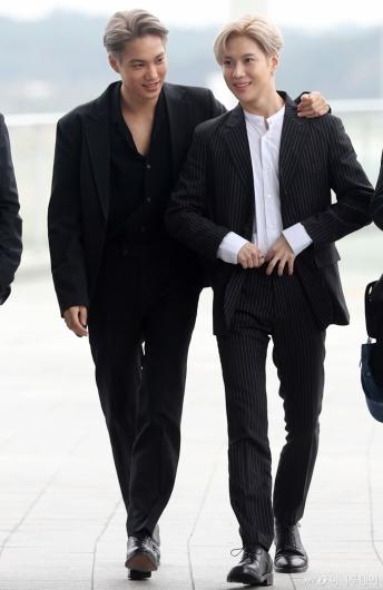 [사진]카이-태민 '잘생긴 두남자'