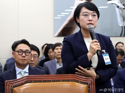 [사진]국정감사 증인 출석한 네이버-카카오 대표
