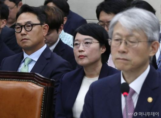 [사진]네이버-카카오 대표, 과방위 국감 증인 출석