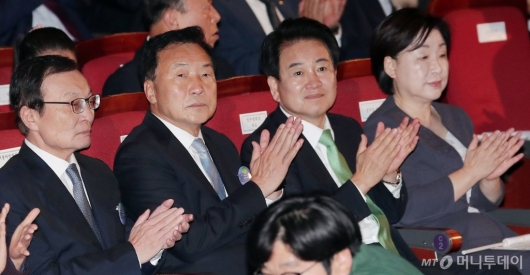 [사진]'여·야 4당 대표가 한 자리에'