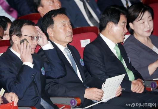 [사진]여·야 4당 대표 '동상이몽'