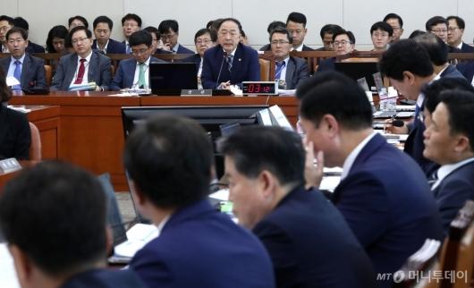 [사진]국회 기획재정위 국정감사