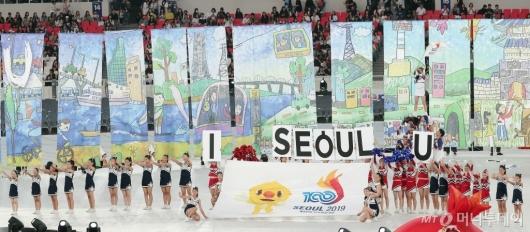 [사진]'제100회 전국체전' 멋진 치어리딩!