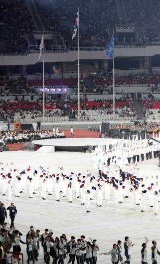 [사진]'제100회 전국체육대회 개회식'