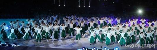 [사진]'전국체전 개회식' 멋진 공연!