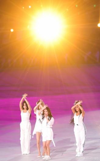 [사진]마마무 '전국체전 축하공연'