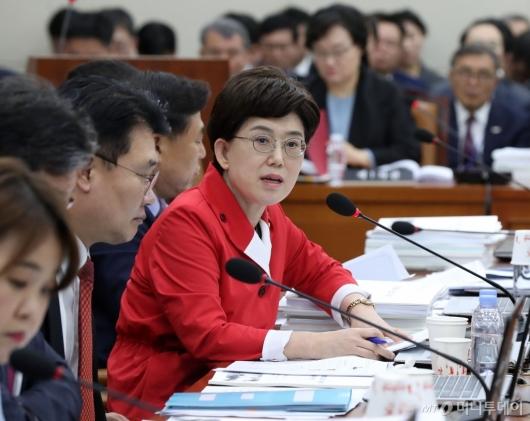[사진]항의하는 최연혜 의원