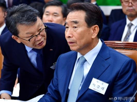 [사진]국정감사 출석한 한국도로공사 사장
