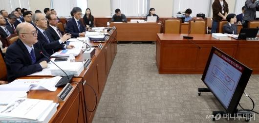[사진]과방위 국감서 조국 장관 딸 인턴십 논란