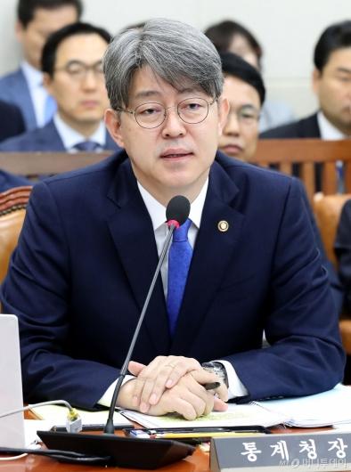 [사진]국정감사 출석한 통계청장