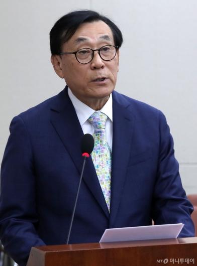 [사진]업무보고하는 김상균 이사장