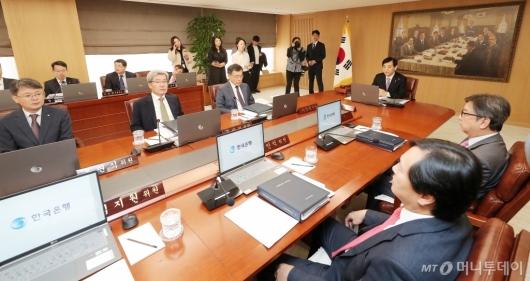[사진]10월 금통위 개최