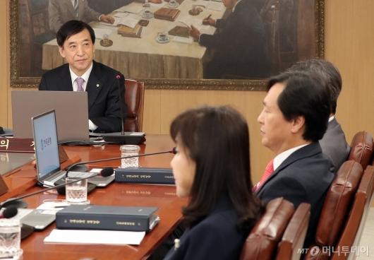 [사진]금통위 주재하는 이주열 한은 총재