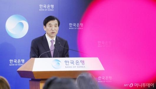 [사진]'기준금리 낮춘 한국은행'
