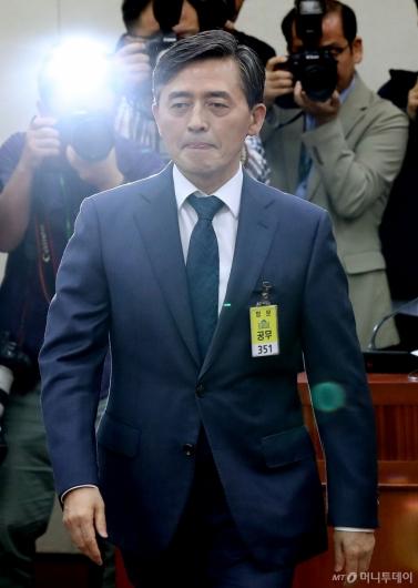 [사진]국감 출석한 양승동 사장