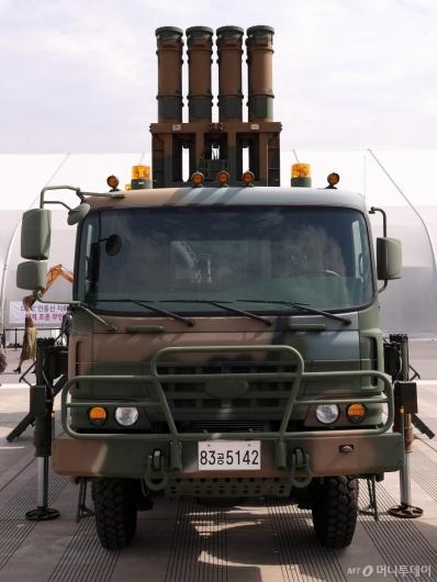[사진]중거리 지대공 미사일 천궁