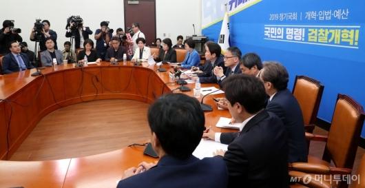 [사진]검찰개혁특위 회의