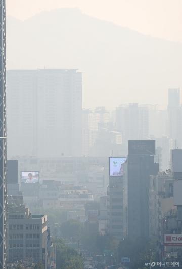 [사진]'돌아온 미세먼지'