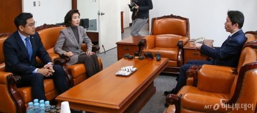 [사진]교섭단체 원내대표 회동
